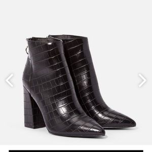 Just Fab Audrina Heeled Bootie